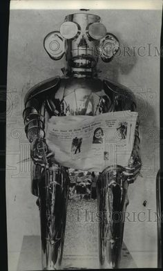 1932 Press Photo Mechanical Man - spx18434