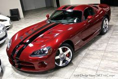 2008 Dodge Viper SRT10 Coupe. Awesome American Supercar!