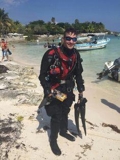 Trey at Akumal beach Cancun, Tulum, Akumal Bay, Quintana Roo, Riviera Maya, Diving, Mexico, Beach, Playa Del Carmen