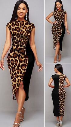 Short Sleeve Boat Neck Leopard Dress HOT SALE! cute dresses, beautiful dresses, pretty dresses, cute dresses outfits, holiday fashion, fashion looks, clothes, fashion, women, beauty, buy, sale, shop, shopping, free shipping, #beautifuldresses #dressoutfits #classy #elegant #cuteoutfits #dresses #elegantstyle #shopping #vestidoselegantes #vestidosbonitos