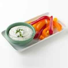 Greek Yogurt Ranch Dip - Meal for One | Weight Watchers
