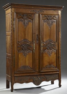 antique furniture armoire. french provincial carved walnut marriage armoire early 19th c furnitureantique furniturefrench antique furniture