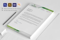 Letterhead by Pxl_graphic on @creativemarket
