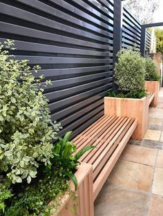 Ideas Rooftop Deck Design Roof Garden Professional Do you have a house with a flat roof, or you live in building? It is right time to edit the place to enjoy just on the flat roof of your house or if you. Small Backyard Landscaping, Backyard Garden Design, Terrace Garden, Modern Landscaping, Patio Design, Backyard Patio, Landscaping Ideas, Backyard Ideas, Patio Roof