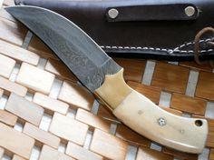 BCST21 Handmade Damascus Steel Bushcraft Knife by PoshlandKnives