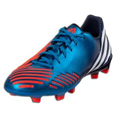 b59153a96168 adidas Predator Absolado LZ TRX FG - Bright Blue Infrared Collegiate  Navy White Firm Ground Soccer Shoes