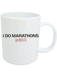 I Do Marathons On Netflix Mug //