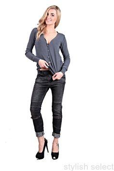 modne  jeans Please baggy boyfriend niski stan