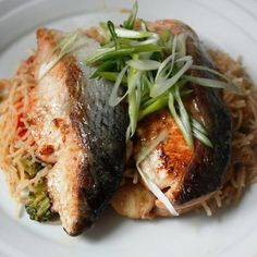 Pan Fried Salmon: Garlic Hoisin Salmon | A Series of Kitchen Experiments