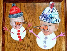 Image detail for -Cute kid snowmen!