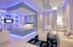 Como decorar meu quarto de casal e o quarto de visita? Eis a questão... Que cor colocar nas paredes, no teto e no chão, que objetos...