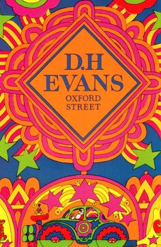 SWEET JANE: Psychedelic Christmas poster: D.H Evans Oxford Street December 1967