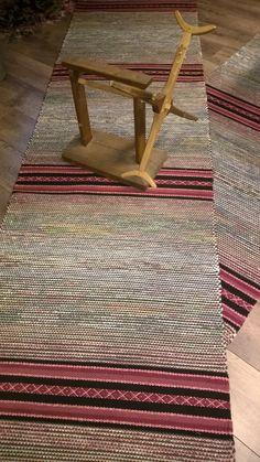 Rag Rugs, Tear, Woven Rug, Scandinavian Style, Colorful Rugs, Carpets, Loom, Pattern Design, Hand Weaving