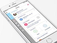 UI Movement - The best UI design inspiration, every day. Best Ui Design, Mobile Ui Design, App Ui Design, User Interface Design, Mobile Ux, Tablet Ui, Ui Animation, Ui Design Inspiration, Design Ideas