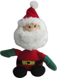 Iconic Pet Santa Claus Plush Rope/Squeaky Christmas Pet (Dog) Holiday Toy - Made of plush stuffing and a squeaker hidden inside to give more fun to your dog.It has a rope neck which is great for your dog to chew and play.Perfect for offering this toy to your dog as a Christmas gift.Available in two other exciting characters: Reindeer and Penguin. At Home > Pet Care > Pet Toys > Dog Toys. Weight: 1.00