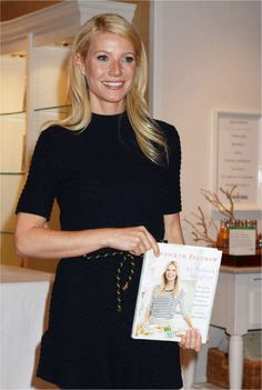 Gwyneth Paltrow in House of Vionnet crochet dress