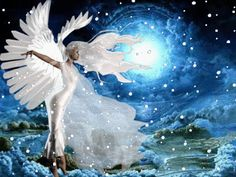 Animated Glitter Angels | -Angels cherubs animated gif glitter graphics images Grafica glitter ...