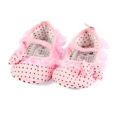 Baby Girl Lace Bowknot Infant Casual Prewalker Shoes First Walkers Shoes Pink