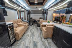 2019 Foretravel Iron Luxury Villa 2 W/ Theater Seats