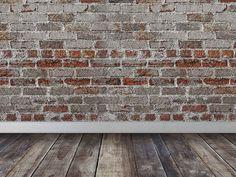Bricks Wall Wood Floor Room Interior Scene Texture