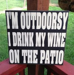 More like with neighbors in the front yard but that's still outdoorsy:)