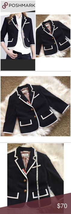8e284a5acfa5b Thom Browne Neiman Marcus Navy Nautical Blazer S Thom Browne Neiman Marcus  for Target Navy Red