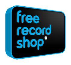 Indirecte Distributie - Labels leggen cd's in de winkel, Free Record Shop verkoopt vervolgens de albums