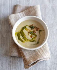 Get your fill of blended veggies and spices with these delightful warm-weather soups.