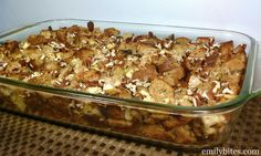 Emily Bites - Weight Watchers Friendly Recipes: Turkey Apple Pecan Stuffing