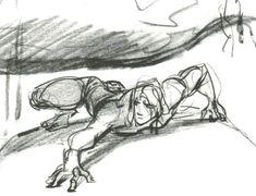 Enjoy a gallery of 100 Original Concept Art, Character Design & Sketches for classic Disney movie Tarzan. Animation Sketches, Cartoon Sketches, Disney Sketches, Animation Reference, Disney Concept Art, Disney Art, Walt Disney, Storyboard, Dreamworks