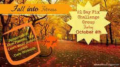21 Day Fix Challenge Group beginning October 6th!