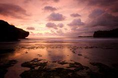 Sunset in Pangandaran, West Java