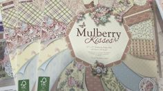 Álbum papeles scrap Mulberry Kisses