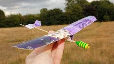 In this video we teach how to make a paper airplane or a cardboard glider. Material, all you need will be some cardboard or paper, some duct tape, string, sc...