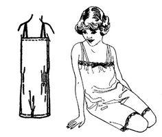 Past Patterns: #500 Flapper Step-In Underwear
