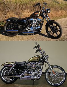 Khui Sportster 72 with a ton of mods, including Tank Lift, Coil & Key Relocation, Modular Headlight Relo, Solo Seat & Much More!