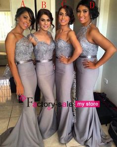 Cadburys Purple Bridesmaid Dresses 2016 Dark Gray Long Bridesmaid Dresses Halter Beaded Top Mermaid Sexy Cheap Prom Dress Backless Formal Evening Gowns Bo6556 Short Bridal Gowns From Factory Sale, $82.47| Dhgate.Com