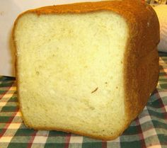 I got this recipe from my mother in law. Ive been looking for a light white bread thats soft and fluff, but still firm enough to make a sandwich with. This recipe is perfect for that. Put a little butter or jam on a slice of this while its still warm and youll never use a different bread recipe again! Makes a 1.5 pound loaf