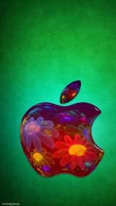 Original Iphone Wallpaper, Apple Logo Wallpaper Iphone, Iphone Homescreen Wallpaper, Phone Wallpapers, Iphone Logo, Iphone 5s, Apple Iphone, Ipad Logo, Stars At Night