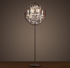 Husband and I are attempting to recreate this lamp without spending $1400 at Restoration Hardware.