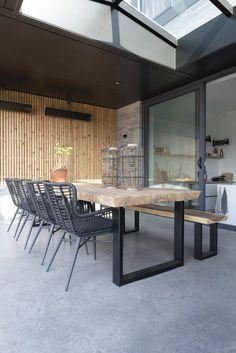 Diy Outdoor Table, Outdoor Dining Furniture, Outdoor Dining Set, Outdoor Areas, Outdoor Decor, Outdoor Restaurant Patio, Jacuzzi Outdoor, Outdoor Living Rooms, Garden Table