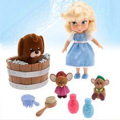 Cinderella Mini Doll Playset