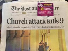 Charleston Newspaper Ran Gun Store Ad Over Shooting Coverage