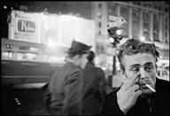 USA. James DEAN, US actor. 1955. - USA. New York City. 1955. James DEAN. - Dennis Stock