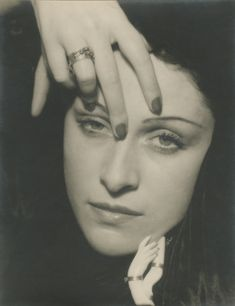 Man Ray, Portrait of Dora Maar, 1936