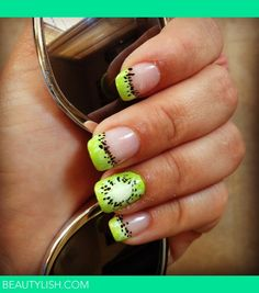 Kiwi Summer Nails | Heather R.s Photo | Beautylish