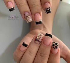 Latest Nail Art, New Nail Art, Fall Nail Art, Cute Nail Art, Gorgeous Nails, Love Nails, Pretty Nails, Super Cute Nails, Marble Nail Art