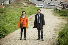 David and Olivia in Broadchurch