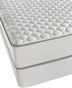 beautyrest classic erin firm tight top full mattress set