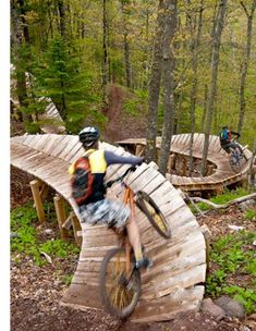 Copper Mountain. Extreme Mountain biking. Looks fun.   I'd fall off in a heartbeat:)